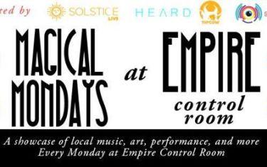 Magical Mondays at Empire Control Room