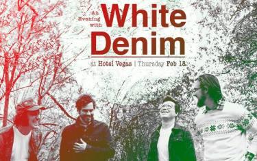 White Denim at Hotel Vegas!