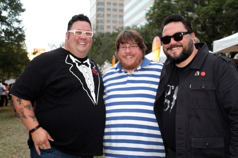 Graham Elliott, Robert Rankin, Naki at Austin Food & Wine Festival