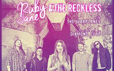 Ruby Jane & The Reckless :: The Warplanes :: Diamond Cuts :: Presented by LYFT x HE^RD :: THIS Thursday 4/7 at Empire :: FREE SHOW!
