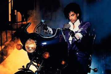 "Prince, from his album ""Purple Rain."""