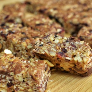 Fruit & nut trail mix or a granola bar