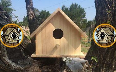 Lumber Society Birdhouse Badge