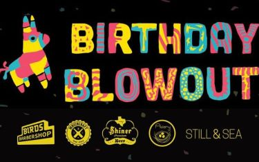 Birds Barbershop 10-Year Birthday Blowout Party!