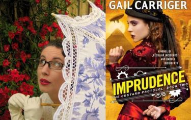 Gail Carriger at BookPeople with Imprudence