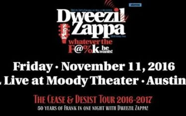 Dweezil Zappa Plays Whatever the F@%k He Wants at ACL Live at Moody Theater