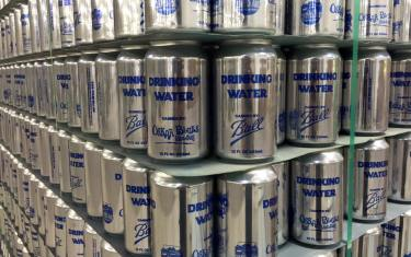 Water Water Everywhere, Not a Drop to Drink: Oskar Blues Cans Water For LA.