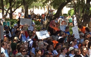 UT Campus Carry Protest Stays On Message Despite The Hype