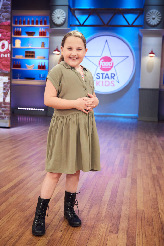 Contestant Sydnie Meyers, as seen on Food Network Star Kids, Season 1.
