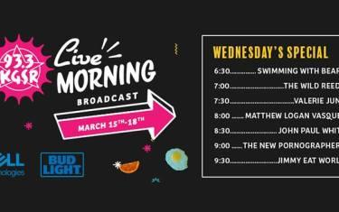 SXSW Live Morning Broadcast: Jimmy Eat World & More!