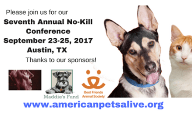Seventh Annual American Pets Alive! Conference