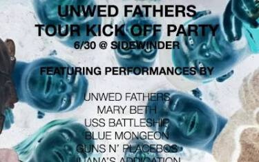 The Unwed Fathers/Blue Mongeon Tour Kickoff Party