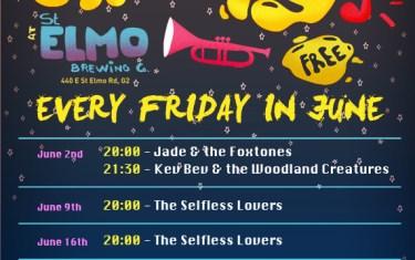 St. Elmo's Funky Fridays Concert Series
