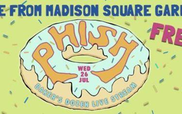 Free! Live Stream: Phish at Madison Square Garden