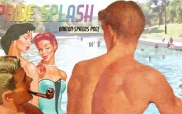 PRIDE Splash at Barton Springs