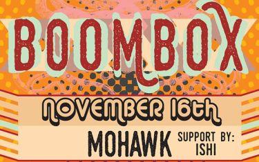 BoomBox with ishi