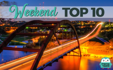 Weekend Top 10 FREE Events: March 23-25, 2018
