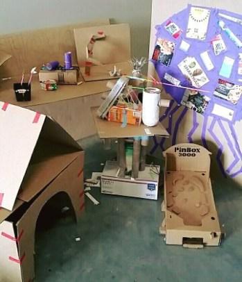 maker faire austin cardboard build gallery