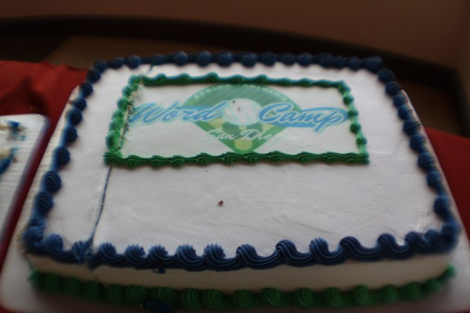 WordCamp SD Cake
