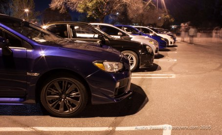 Row of Subaru's