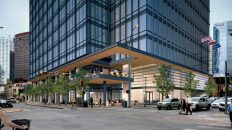Here's Our First Look at the Redesigned 300 Colorado Office Tower