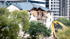 Downtown Austin's Extended Stay America is Finally Coming Down