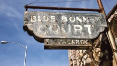 Austin Curiosities: Hyde Park's Historic Blue Bonnet Court
