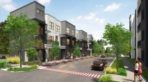 East Austin Townhome Project Tries a Throwback Look on