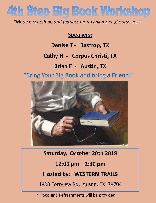 4th Step Big Book Workshop