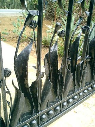 Agave Rose Vineyard Gate Lars Stanley Metalworks The