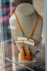 Antler and Tassel Necklace