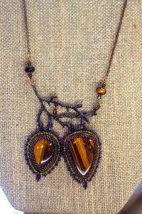 Tiger's Eye Beading jewelry design USA