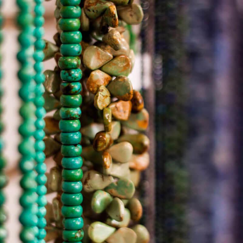 Jasper Beads Close-up