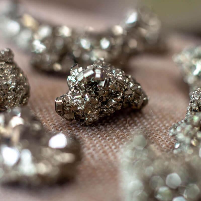 Pyrite - semi precious gems