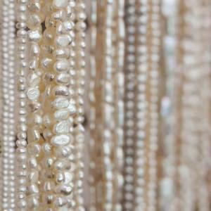 Pearls and semi precious beads