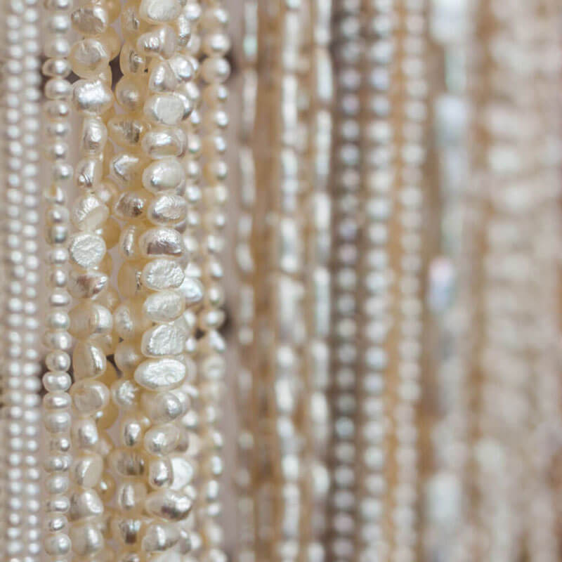 Pearls Close-up