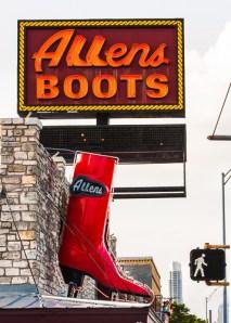 Vanishing Austin / Walk in Allens Boots by Jann Alexander ©2013