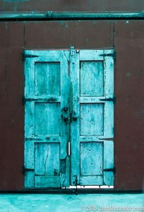 Rio Grande Valley Door by Jann Alexander ©2008