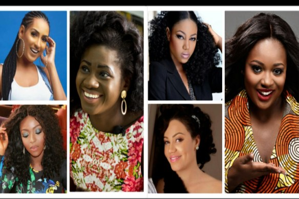 Top 10 Most Richest Actresses In Ghana - Austine Media
