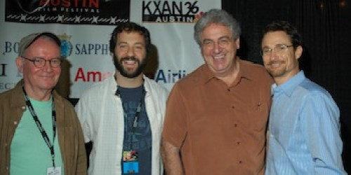 Buck Henry, Judd Apatow, Harold Ramis, and Barry Josephson at AFF 2005