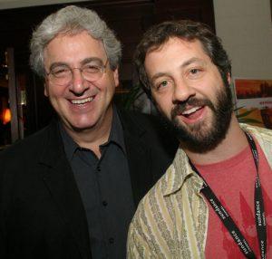 Harold Ramis and Judd Apatow at AFF 2005