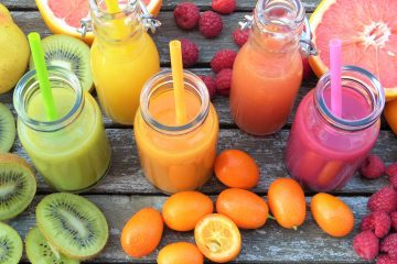 Canva - Various Fruit Juices