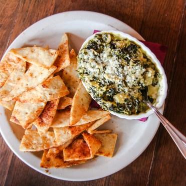 Farinas Cafe Spinach & Artichoke Dip