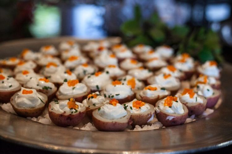 red potato cups