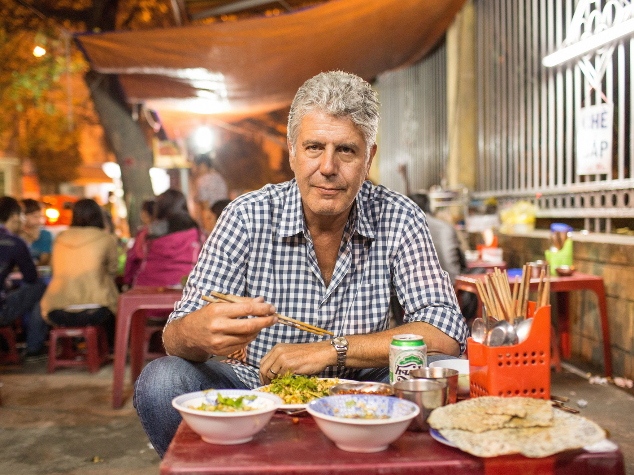 Anthony Bourdain Photo: cntraveler.com