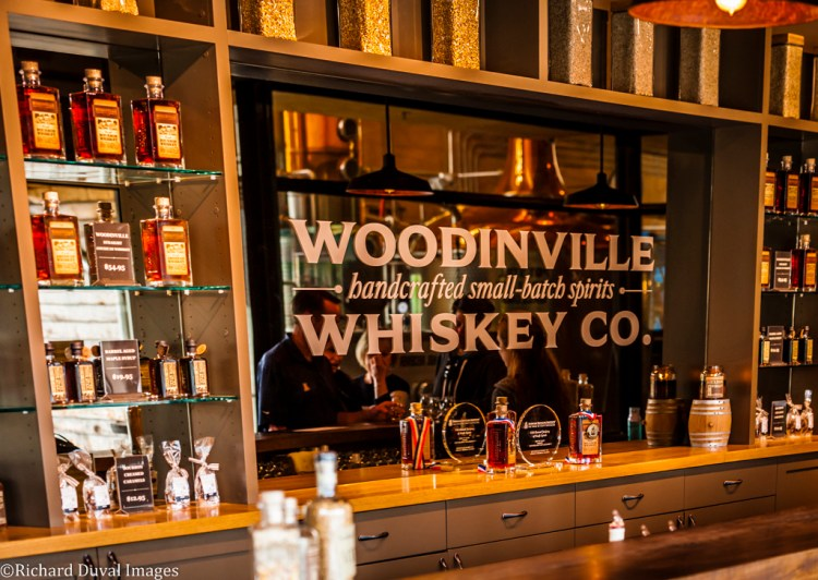 USA, Washington, Woodinville. Woodinville Whiskey Company