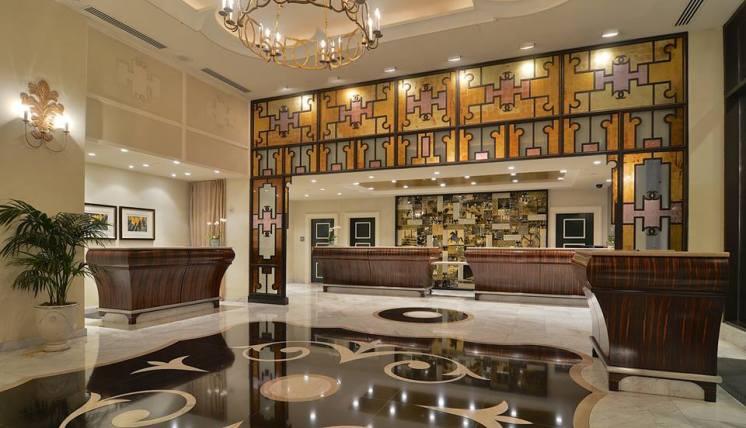 Lobby at Loews Hotel