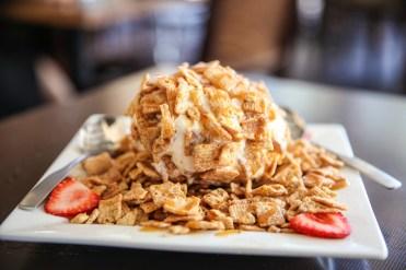 Cinnamon Toast Fried Ice Cream