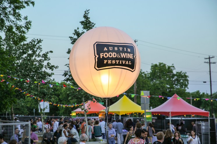 Austin Food and Wine - Lone Star Nights