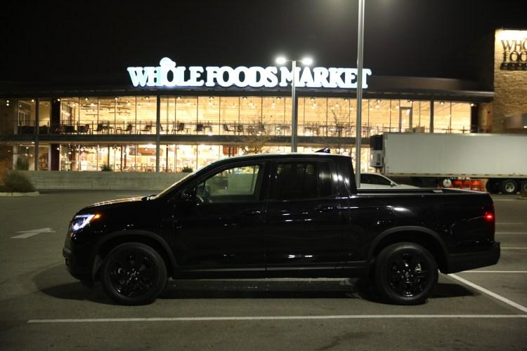 2017 Honda Ridgeline Black